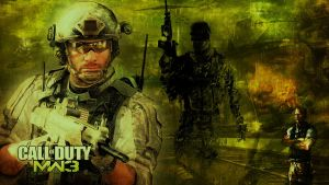 COD: MW3 - Wallpaper by mattsimmo