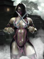 Mileena Render edit by Ess-Kombat