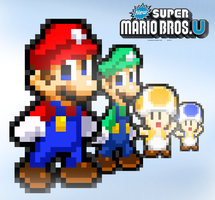New Super Mario Bros. U: The Heroes Are On The Way by FaisalAden