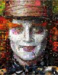 The Mad Hatter Mosaic by Cornejo-Sanchez