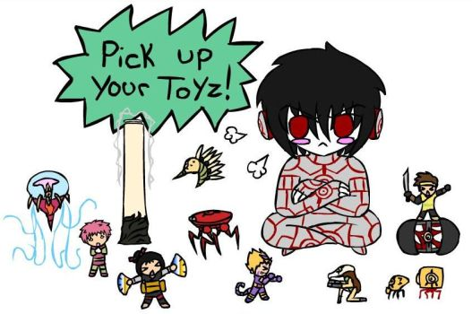 Pick Up Your Toys re-boot by Kiyan200