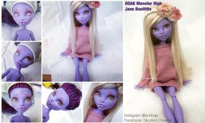 WIP Monster High Jane Boolittle by AndrejA