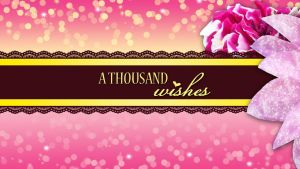 A Thousand Wishes by CaptainSwanForever