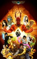 The Red Pyramid by AireensColor