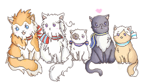 Neko nordics by Mico-tan