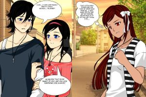 Yandere Michelle and Nevin x Nevaeh!! by Brolysgurl101