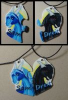 Badge: One year of being together by Samantha-dragon