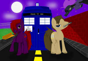 Doctor whooves by darkzerofox