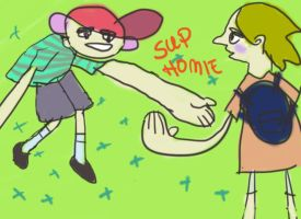 sup homie by penguinguy
