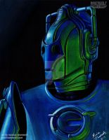 UPGRADED - Cyberman (Doctor Who) by The-Art-of-Ravenwolf