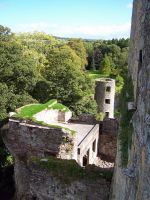 Blarney Castle Sideview by corrupt-prodigy