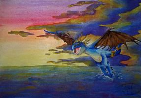 Time for a flight by jessi-dragon-rider