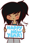 Happy New Year~ by Contract-Bound