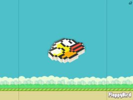 Flappy Bird 3D Wallpaper by quen-quen