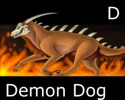 Demon Dog Keir by MadDerp