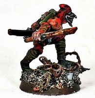 Blood Pact solider by billking