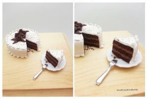 Chocolate Cake by SmallCreationsByMel
