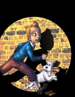 TinTin colors by renecordova