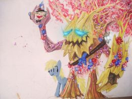 Fluttershy, the Twisted Treant by Sugarcube-Owl