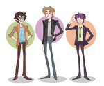 Some Beatles Kids by CrystallizedTwilight