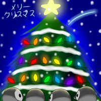 A very Penguin Christmas by Karrotcakes