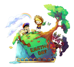 Earth day contest entry by Creamsouffle