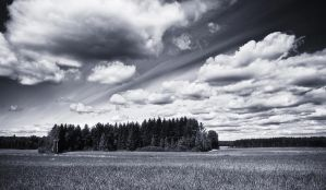 Floating Clouds by JoniNiemela