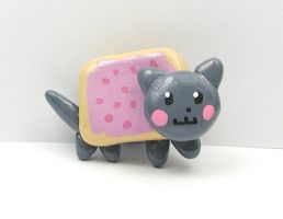 Nyan Cat Magnet by LeiliaClay