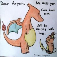 Dear Aryeh... by GosterMonster