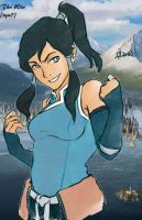 Avatar Korra new uniform by tyw7