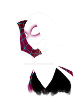 Spider-Gwen by hilarion