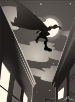 Leap - Batman by Dantooine