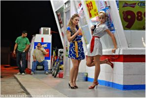 AbFab at the Gas Station: One by walker1812