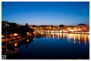 Cales Fonts at Sunset by EdVel