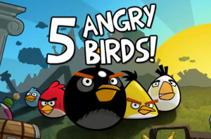 5 Angry birds by Rabbit678