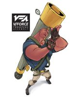 V Force Troopers Assembly Trap Character design by kofab