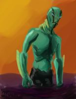 DSC 149 Abe Sapien by Infinity-Joe