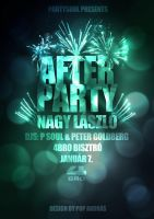 Nagy Laszlo Afterparty Flyer by andraspop