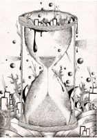 Hourglass III by Rednon