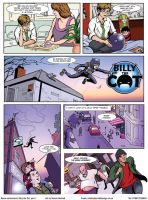 Billy the Cat page 1 by Steve3po