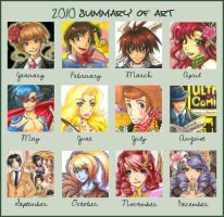 Summary of Art 2010 by Aiko-Mustang