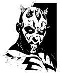 Darth Maul - Sith Lord by LRitchieInk