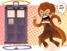 The Doctor meets Portal :D by Willow-San