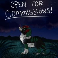 OPEN FOR COMMISSIONS! by Kneel4Loki13