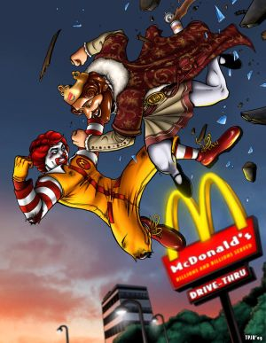 http://th04.deviantart.com/fs40/300W/f/2009/030/6/6/Burger_King_vs_Ronald_McDonald_by_TPollockJR.jpg