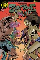 Zombie Tramp #31 cover by celor