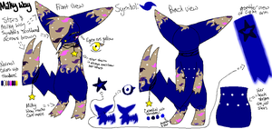 Milky Way Reference 2.0 by Mademoiselle-Squeaky