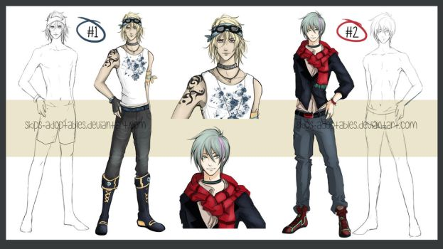 Male Casual Adopt [Closed] by skips-adoptables