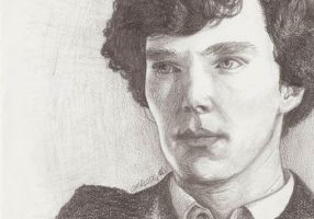 Sherlock - A Study in Graphite by TheDitzyBluebell