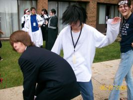 L and Light cosplay yaoi by submindy